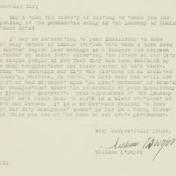 Letter : 1937 November 8