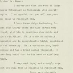Letter: 1947 May 23