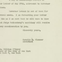 Letter : 1947 May 29