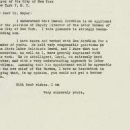Letter : 1948 December 9