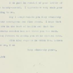 Letter : 1937 July 28