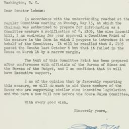 Letter : 1950 May 29