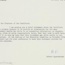 Letter : 1951 November 16