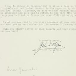 Letter : 1942 December 15