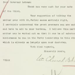 Letter : 1932 December 6