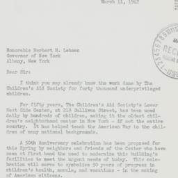 Letter : 1942 March 11