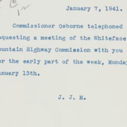 Manuscript: 1941 January 7