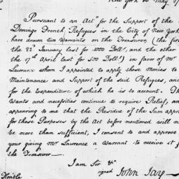 Document, 1797 May 10