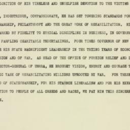 Speech: 1947 May 15