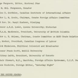 Ephemera: 1954 September 29