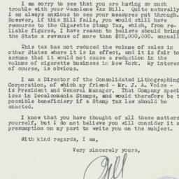 Letter: 1937 April 7