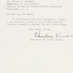 Letter : 1943 January 14
