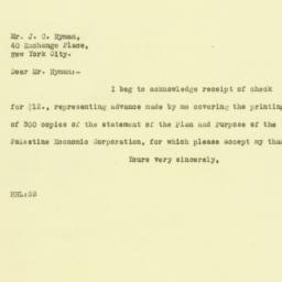 Letter : 1925 September 24