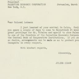 Letter : 1944 March 14