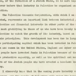 Speech: 1948 January 2