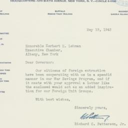 Letter : 1942 May 19