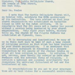 Letter : 1939 October 3