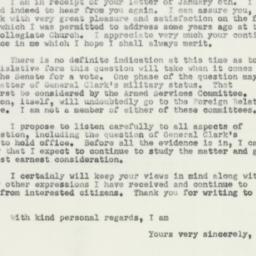Letter : 1952 January 11