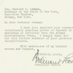 Letter : 1935 January 17