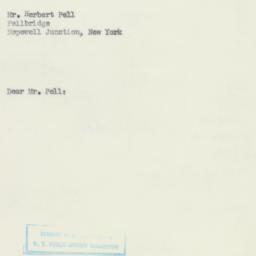 Letter : 1951 January 17