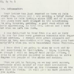 Letter : 1957 February 6