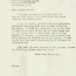 Letter : 1946 October 30