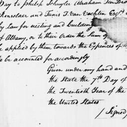 Document, 1796 June 07