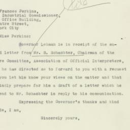 Letter: 1932 December 30