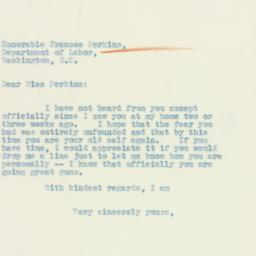 Letter : 1933 April 14