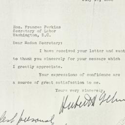 Letter: 1936 July 17