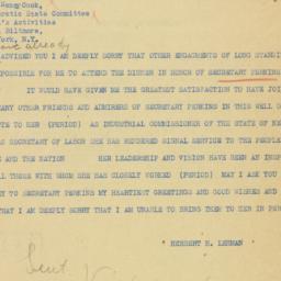 Telegram: 1936 October 6