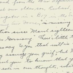Letter : 1944 April 16