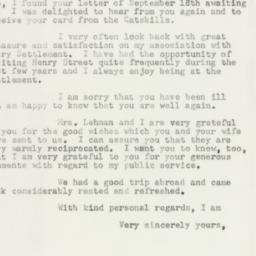 Letter : 1955 October 13