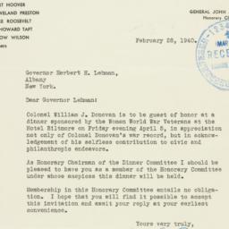 Letter : 1940 February 28