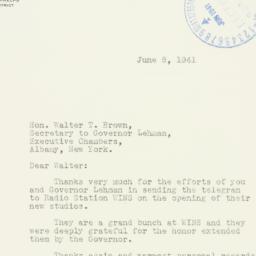 Letter: 1941 June 8