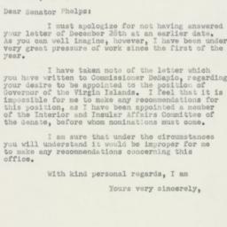 Letter: 1950 January 9