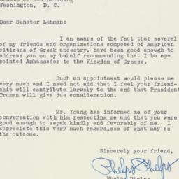 Letter: 1950 June 15