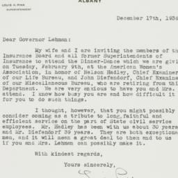 Letter : 1936 December 17