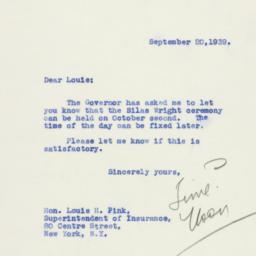 Letter : 1939 September 20
