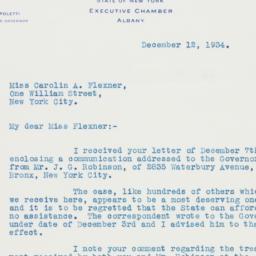 Letter : 1934 December 12