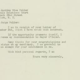 Letter : 1949 September 12