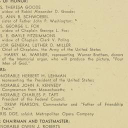 Invitation : 1947 December 15