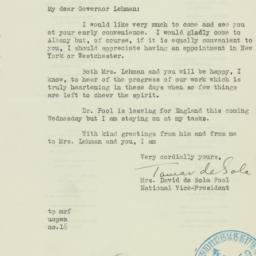 Letter : 1938 June 10
