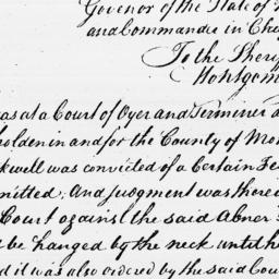 Document, 1795 November 30