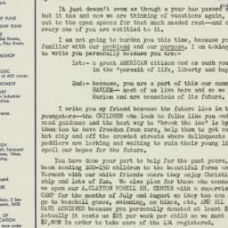 Letter: 1952 June 15