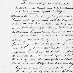 Document, 1795 September 03