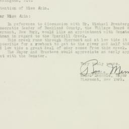 Letter: 1953 June 15