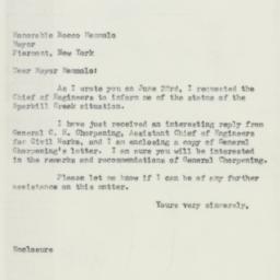 Letter: 1953 July 29
