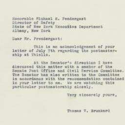 Letter: 1955 July 25