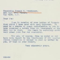 Letter : 1942 January 22